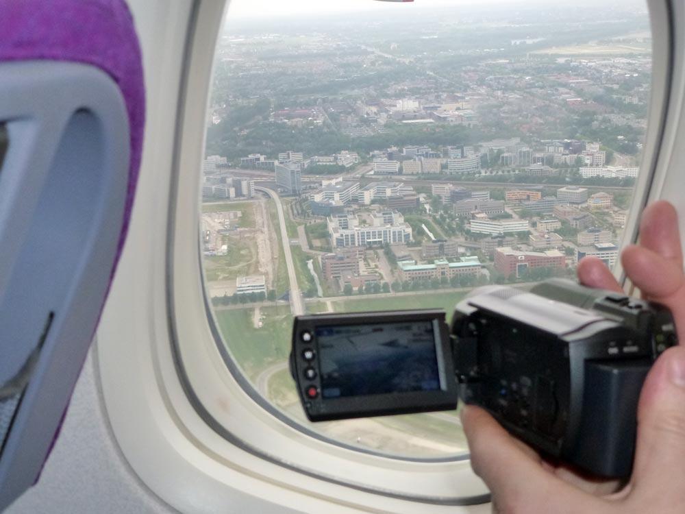 De take off word ook gefilmed
