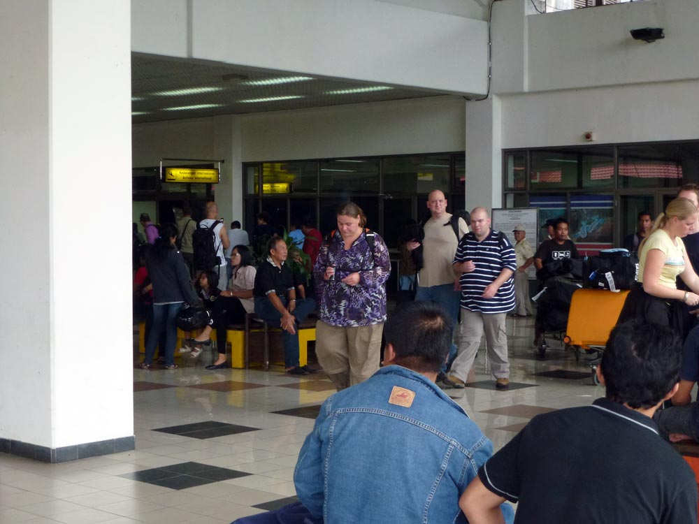 Eindelijk zijn we aangekomen in Manado